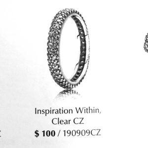 Authentic Pandora ring